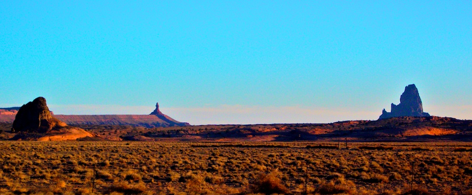 East of Kayenta at sunrise